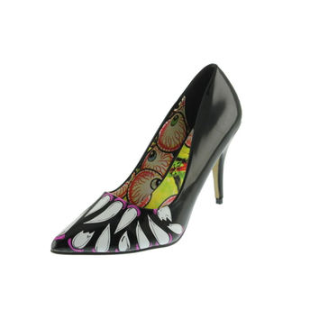 Iron Fist Womens Timmy Chew Patent Pointed Toe Pumps