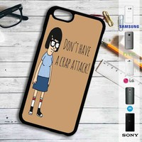 Bob's Burgers Tina Belcher Quotes iPhone 4/4S 5 S/C/SE 6/6S Plus 7| Samsung Galaxy S4 S5 S6 S7 NOTE 3 4 5| LG G2 G3 G4| MOTOROLA MOTO X X2 NEXUS 6| SONY Z3 Z4 MINI| HTC ONE X M7 M8 M9 M8 MINI CASE