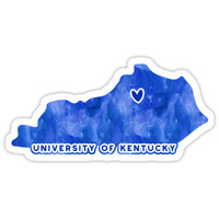 'University of Kentucky - Style 3' Sticker by kayceecolleges