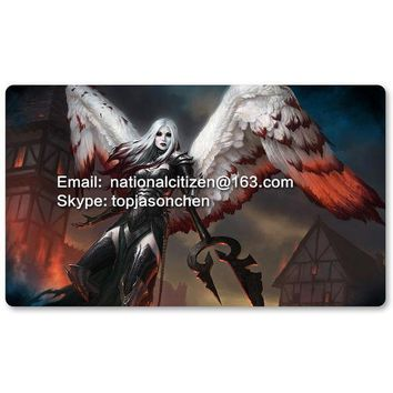 Many Playmat Choices   Avacyn The Purifier   Mtg Board Game Mat Table Mat For Magical Mouse Mat The Gathering 60 X 35cm