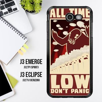 All Time Low Logo Y0296 Samsung Galaxy J3 Emerge, J3 Eclipse , Amp Prime 2, Express Prime 2 2017 SM J327 Case