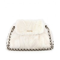 Mae Mink Fur Shoulder Bag: Marc Jacobs ♦ mytheresa.com