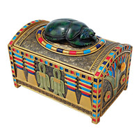 Park Avenue Collection Royal Egyptian Scarab Treasure Box