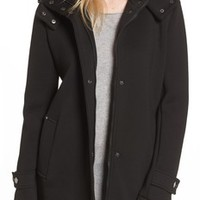 Andrew Marc Roxanne Wool 2-in-1 Car Coat | Nordstrom