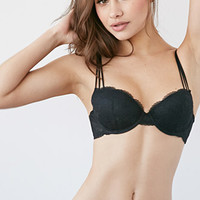 Strappy Lace Push-Up Bra