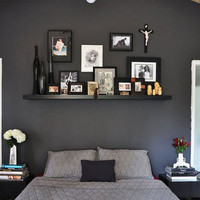 Suggestions for Painting a Bedroom Wall Black | Apartment Therapy Los Angeles