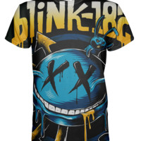 Blink 182 All Over Print T-shirt