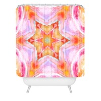 Rosie Brown Kaleidoscope Shower Curtain