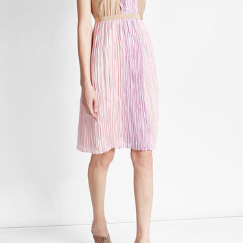 Silk Dress - Agnona | WOMEN | US STYLEBOP.COM