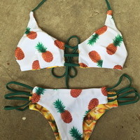 Pineapple swim set from PeaceLove&Jewels