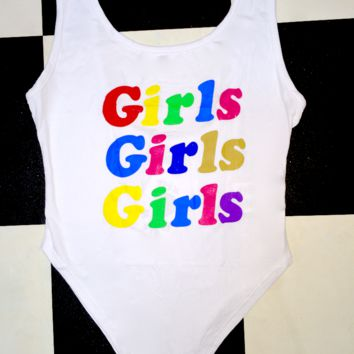 SWEET LORD O'MIGHTY! GIRLS GIRLS GIRLS BODYSUIT