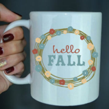 Thankful And Grateful - Fall Coffee Mug