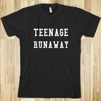 COOL Teenage Runaway Shirt as seen on 1D One Direction Harry Styles, great gift or fun shirt