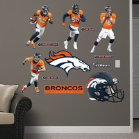 Denver Broncos Power Pack Wall Decals by Fathead