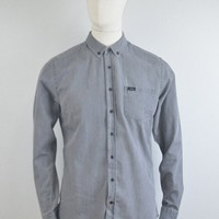 Makia Clothing Archipelago Shirt - Wash Grey