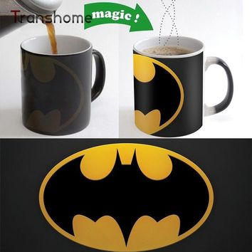 Batman Coffee Mug Color Changing Magic Ceramic Heat Sensitive