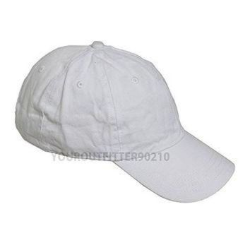 ESBONS Generic Plain Solid Washed Polo Style Hat Soft Foldable 100 Cotton Ball Cap Golf Visor
