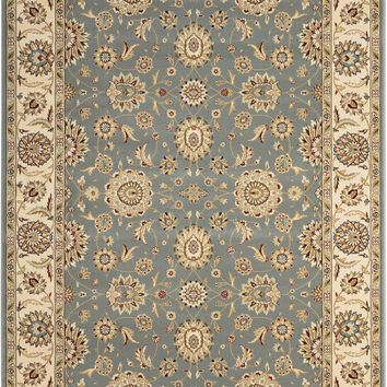 Nourison Persian Crown Blue Area Rug