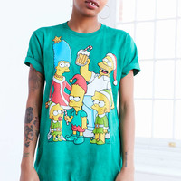 Simpsons Holiday Tee - Urban Outfitters
