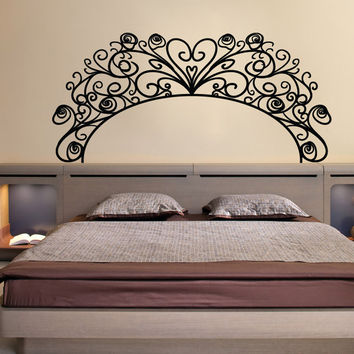 Vinyl Wall Decal Sticker Swirl Arch Design #OS_MB1023