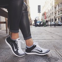 Shoes: nike running nike nike free run pants black jeans black pants leggings jeggings nike for