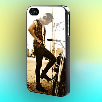 Rock Me Harry Styles Print on cover for iPhone case. Select an option for device and colour