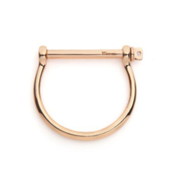 Miansai Rosegold Screw Cuff Bracelet