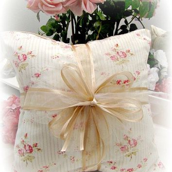 Everyday Romance Vintage Tea Rose Pillow