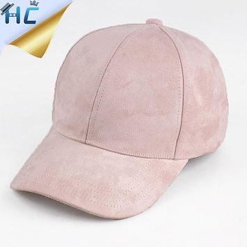 New Women Casual Baseball Cap Dad Hat Deus Cap Pink Black Lady Ovo Drake Hats Snapback Suede Cap Trucker Cap Men