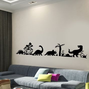 Wall Decal Dinosaur Dino Animals Interior Decor Unique Gift z3998