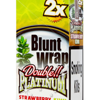 Blunt Wrap Double platinum x2 – Strawberry Kiwi