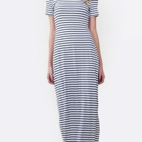 Ellie Knit Stripe Dress*