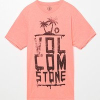 Volcom Black Beach T-Shirt - Mens Tee