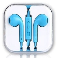 Doopoo(TM) 3.5mm Stereo Earphone Headphone with Microphone for Apple Iphone 6 / 6 Plus / 5 / 5s /5c, Ipads, Ipods, Nano, Kindle, HTC , Samsung Galaxy Note 2 3 4 S5 ,Xiaomi , Other Android Smartphone,Tablets,MP3 Players