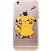 "Apple iPhone 6 Pokémon Pikachu clear case iPhone 6/6s (4.7"")"