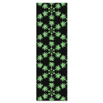 Geometric Pot Leaf Pattern Yoga Mat> Dark Yoga Mats> Energy Yoga Mats