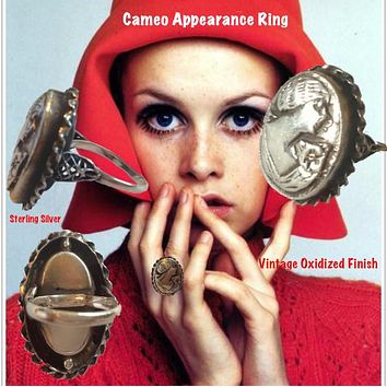 """Cameo Appearance""  Cocktail Ring"