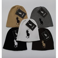 Polo wool cap Europe and the United States men and women polo polo wool cap