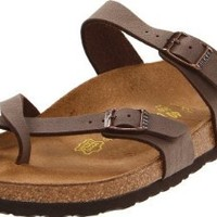 Birkenstock Women's Mayari Leather Thong Sandal