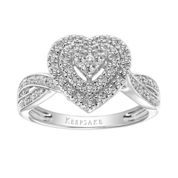 Keepsake - Valentine Limited Edition 2018 1/3 Carat T.W. Certified Diamond 10kt White Gold Ring - Walmart.com
