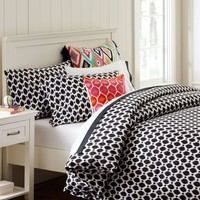 Ikat Dot Organic Duvet Cover + Pillowcases