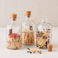 Skeem Inc Apothecary Match Jar | Urban Outfitters