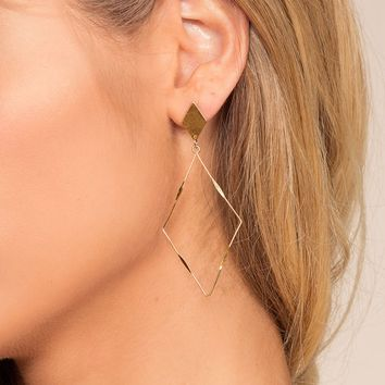 Cleo Earrings - Gold