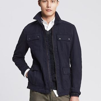 Banana Republic Mens Modern Safari Jacket