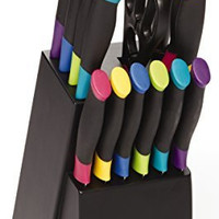 Farberware 15-Piece Stainless Steel Knife Set