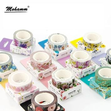 Plants and Floral Washi Tape