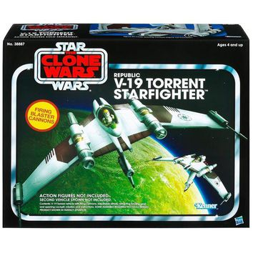 ONETOW STAR WARS Vintage Class II Attack Vehicles- EU TORRENT V-19