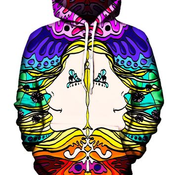 Insight And Mind Visionary Art Pullover Hoodie