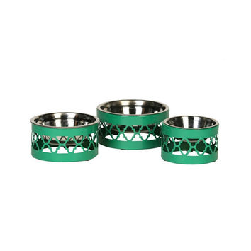 Easton Collection Dog Bowls