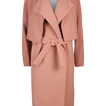 Pasinios Tan Trench Coat